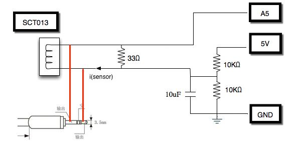 Arduino 使用 SCT013 量電流Arduino 使用 SCT013 量電流